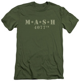 M.A.S.H - Distressed Logo (slim fit) T-shirts
