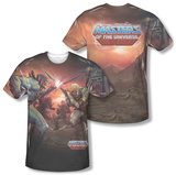 Masters Of The Universe - Battle (Front/Back) Sublimated