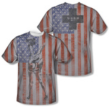 M.A.S.H - Flagged (Front/Back Print) Shirts
