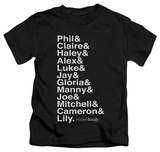 Youth: Modern Family - Names Shirts