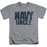 Juvenile: Navy - Uncle T-shirts