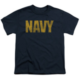 Youth: Navy - Logo T-shirts