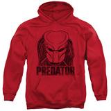 Hoodie: Predator - Logo Pullover Hoodie