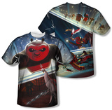 Kung Fu Panda - Epic Jumping (Front/Back) Sublimated