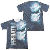 Predator - Mask (Front/Back Print) T-Shirt