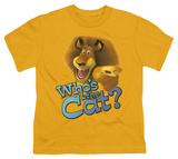 Youth: Kung Fu Panda - Who's The Cat T-shirts