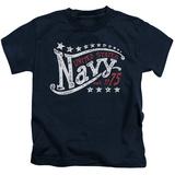 Juvenile: Navy - Stars T-Shirt
