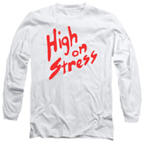 Longsleeve: Revenge Of The Nerds - High On Stress Long Sleeves