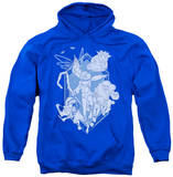 Hoodie: Rise Of The Guardians - Coming For You Pullover Hoodie
