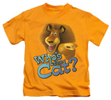 Juvenile: Kung Fu Panda - Who's The Cat Shirts