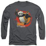 Longsleeve: Kung Fu Panda - Real Warrior T-Shirt