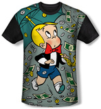 Richie Rich - Let It Rain (black back) T-Shirt