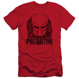 Predator - Logo (slim fit) Shirts