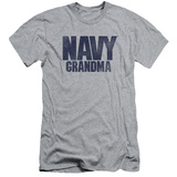 Navy - Grandma (slim fit) T-shirts
