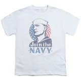 Youth: Navy - Join Now T-Shirt