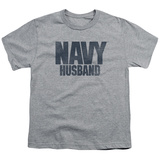 Youth: Navy - Husband T-Shirt