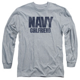 Longsleeve: Navy - Girlfriend T-shirts
