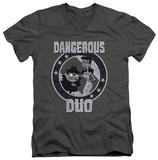 Rocky & Bullwinkle - Dangerous V-neck Shirt