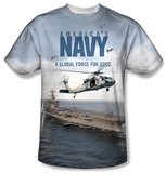 Youth: Navy - Over And Under T-shirts