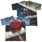 Youth: Kung Fu Panda - Epic Jumping (Front - Back Print) (Front/Back Print) T-Shirt