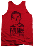 Tank Top: Malcolm In The Middle - F Word Tank Top