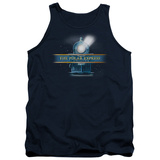 Tank Top: Polar Express - Train Logo Tank Top