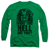 Longsleeve: Predator - What Are You T-Shirt