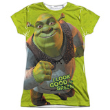 Juniors: Shrek - Trio Womens Sublimated
