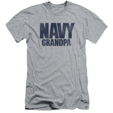 Navy - Grandpa (slim fit) T-shirts