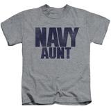Juvenile: Navy - Aunt T-shirts