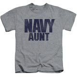 Youth: Navy - Aunt T-shirts