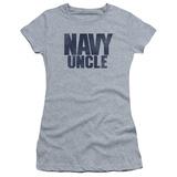 Juniors: Navy - Uncle T-Shirt