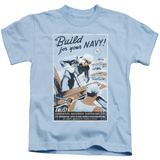 Juvenile: Navy - Build Your Navy T-Shirt