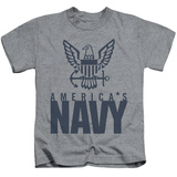 Juvenile: Navy - Eagle Logo T-shirts