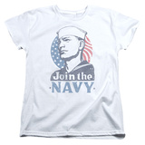 Womans: Navy - Join Now Shirt