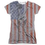 Juniors: M.A.S.H - Flagged T-Shirt