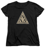 Womans: Revenge Of The Nerds - Tri Lambda Logo T-Shirt