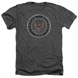 Navy - Rough Emblem T-shirts