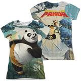 Juniors: Kung Fu Panda - Training (Front - Back Print) (Front/Back Print) Shirts