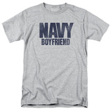 Navy - Boyfriend T-Shirt