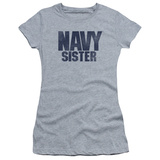 Juniors: Navy - Sister T-shirts