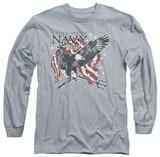 Longsleeve: Navy - Trident T-shirts