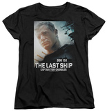 Womens: The Last Ship - Captain T-shirts