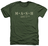 M.A.S.H - Distressed Logo T-shirts