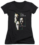 Juniors: The X Files - Lone Gunmen V-Neck T-shirts