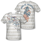 Sons Of Anarchy - Crow And Stars (Front/Back) Shirt