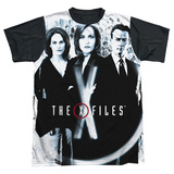 The X Files - Three Agents (black back) T-Shirt