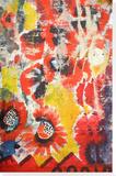 Poppy Ravine, 2013 Stretched Canvas Print by Paula Wilson