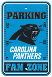 NFL Carolina Panthers Plastic Parking Sign - Fan Zone Wall Sign