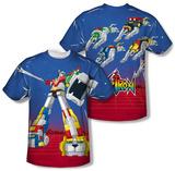 Voltron - Form Voltron (Front/Back) T-Shirt